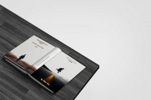 Opened Book Free Mockup