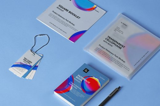 Product Stationery Free Mockup
