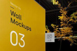 Wayfinding Free Mockup (PSD)