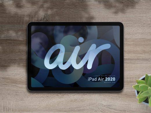 iPad Air 2020 Free Mockup