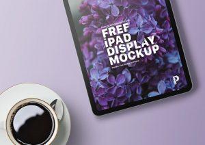 iPad Display Free Mockup