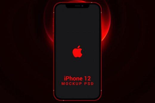 iPhone 12, 12 Pro & Max Free Mockups
