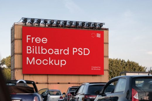 Big Billboard Free Mockup