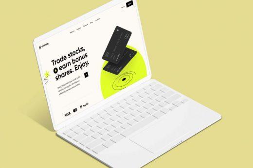 Free Laptop Tablet Mockup