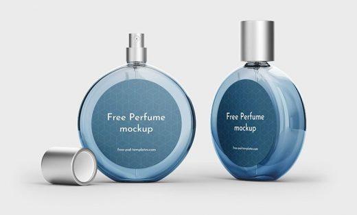 Free Perfume Packaging Mockup