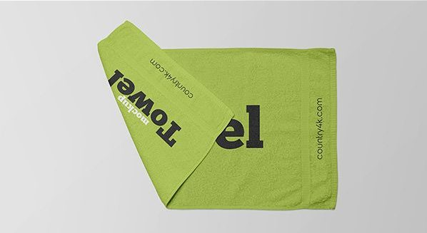 Free Towel Mockup (PSD)