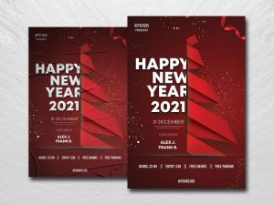 Happy NYE Eve Free Flyer Template (PSD)
