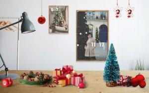 Christmas Frames Kit Scene Free Mockup