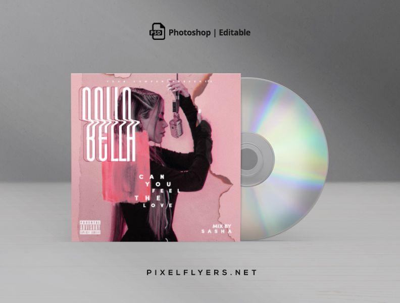 Feel The Love Free CD Cover Artwork (PSD)