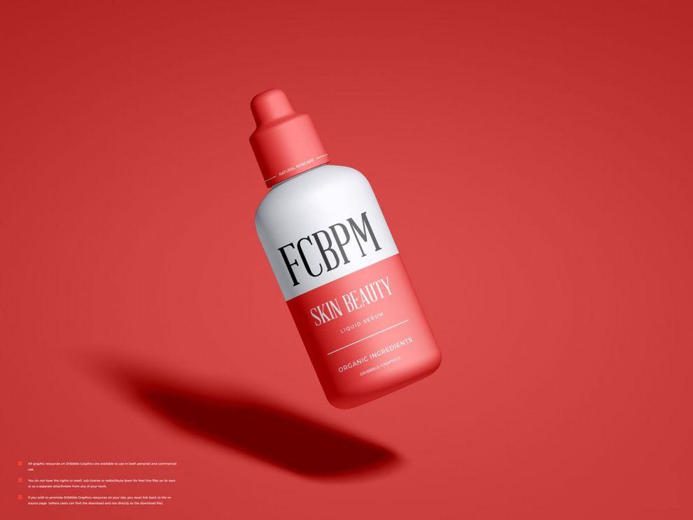 Free Cosmetic Beauty Packaging Mockup