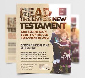 Modern Church Event Free Flyer Template (PSD)