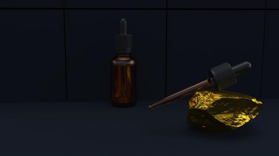 Free Dropper Bottle Mockup (PSD)