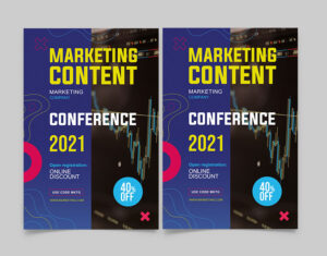 Free Marketing Conference Flyer Template (PSD)