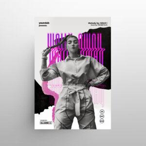 Free Modern Music Event Flyer Template (PSD)