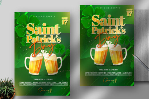 Saint Patrick's Day Free Flyer