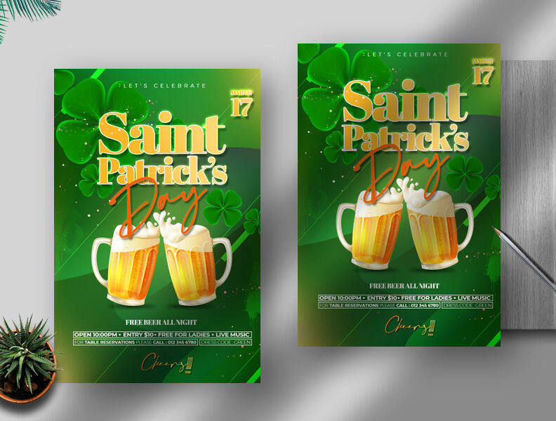 Saint Patrick's Day Free Flyer