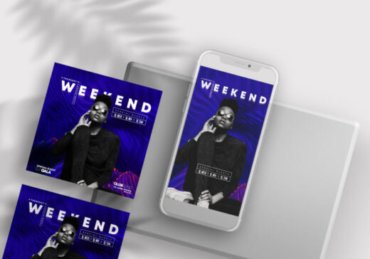 Artist Performance Free Instagram Template (PSD)