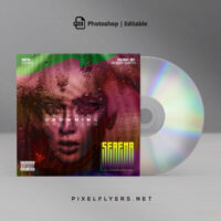 Artistic Mixtape Free CD Cover Artwork (PSD)