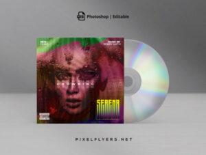 Artistic Mixtape Free CD Cover Artwork (PSD)