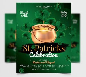 Patrick's Day Free Flyer Template (PSD)