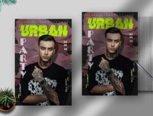 Urban Concert 2021 Free PSD Flyer Template