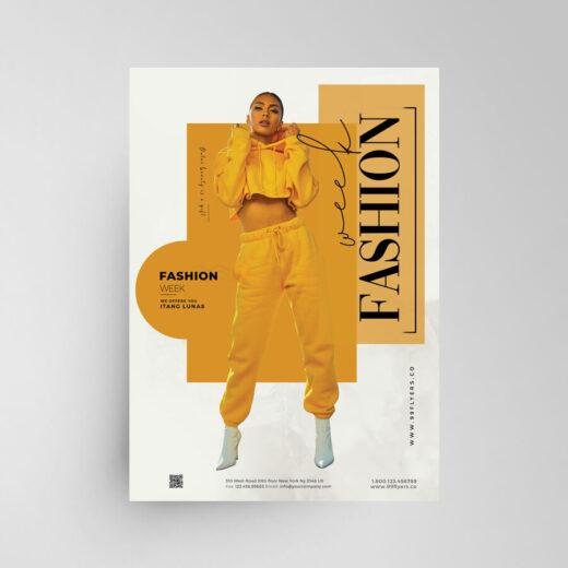 Fashion Designer Sale Free Flyer Template (PSD)