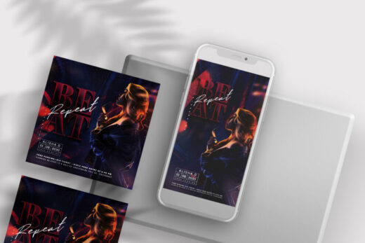 Friday Party Free Instagram Banners Templates (PSD)