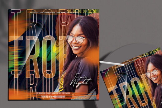 Summer Party 2021 Free Flyer Template (PSD)