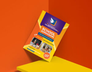 Free Education Ad Flyer Template (PSD)