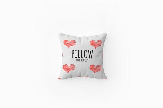 Free Minimalist Pillow Mockup