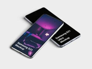Free Samsung Galaxy S21 Mockup
