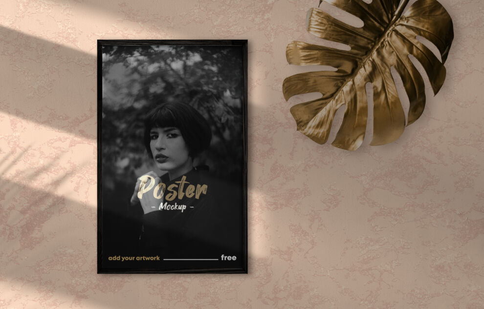 Poster Frame Scene Natural Free Mockup