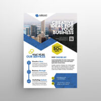 Corporate Services Ad Free Flyer Template (PSD)
