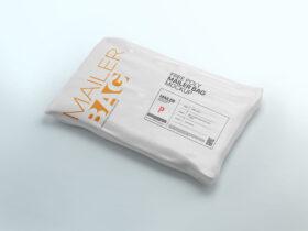 Free Poly Mailer Bag Mockup