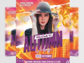 Autumn Vibes 2021 Free Flyer Template (PSD)