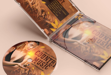 Country Music Free CD Cover Art Template (PSD)