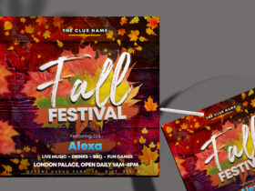 The Fall Festival Free Instagram Banner (PSD)